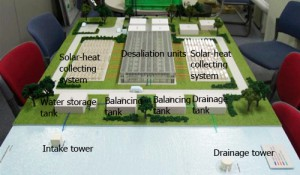Rendering of desalination plant
